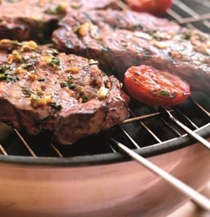 Asian-Glazed Steaks