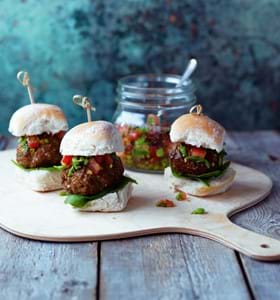 BBQ Keema Lamb Sliders