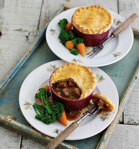 Beef and Ale Pot Pies