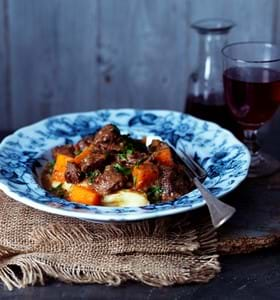 Beef and Butternut Squash Stew