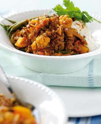 Beef and Vegetable Balti