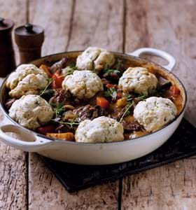 Beef Casserole with Herb Dumplings (1)