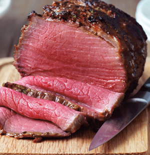 Beef Mini Roast with Chipotle Butter