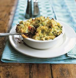 Cottage Pie with Bubble and Squeak Topping