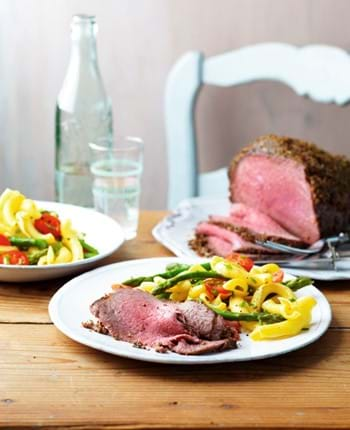 Crispy Roast Beef with Herbs