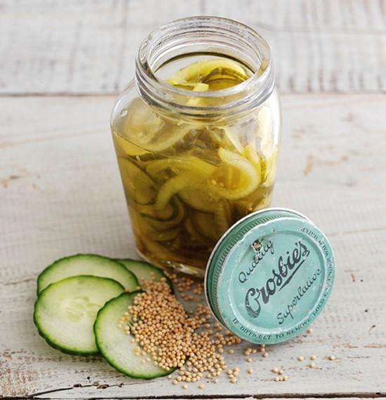 Cucumber and Onion Pickle