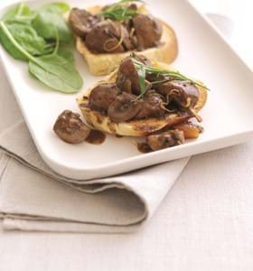 Devilled Lambs Kidneys on Toast
