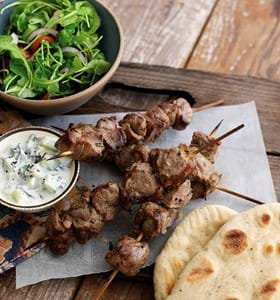 Grilled Lamb with Anchovy and Mustard