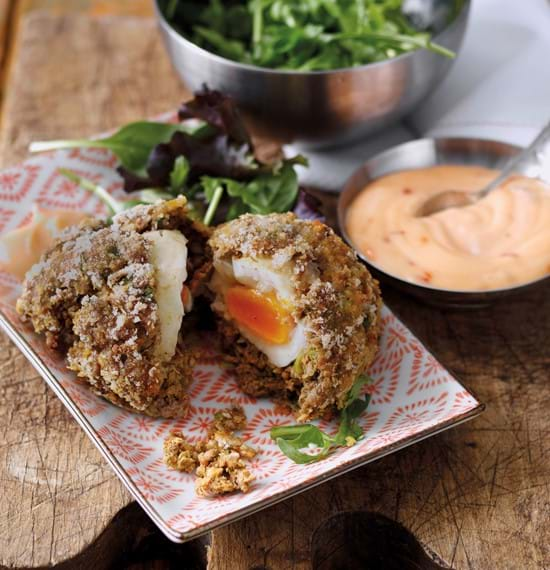 Keema Scotch Eggs