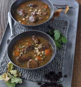 Lamb and Coffee (Espresso) Stew
