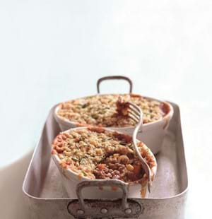 Lamb and Vegetable Crumble