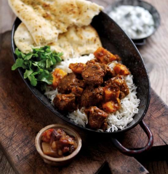 Lamb Curry with Sweet Potatoes
