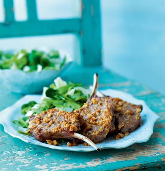 Lamb Cutlets with Anchovy and Sun-Dried Tomato Butter
