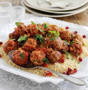 Lamb Meatball Tagine