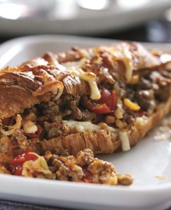 Mainstay Mince - Cheesy Beef and Tomato Croissants