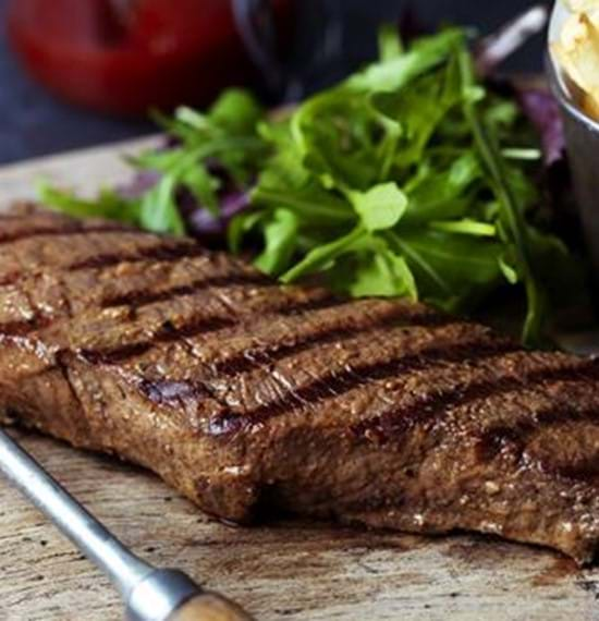 Marinated Denver Steaks