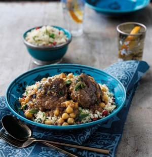 Middle Eastern Style Beef Shank Stew