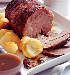 Mint and Lime Roast Lamb