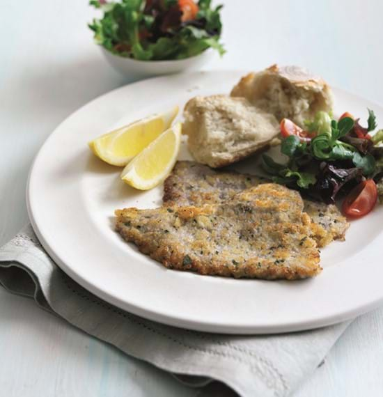 Parmesan Crusted Veal