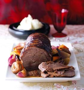 Pot Roast Brisket with Christmas Spices