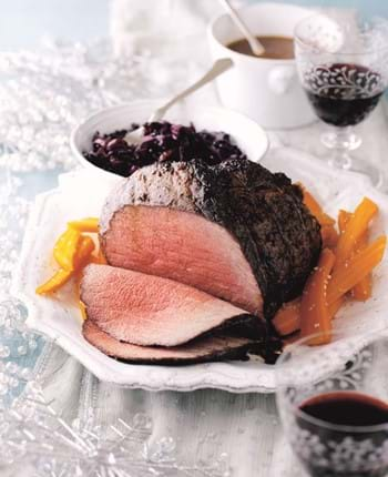 Roast Beef with Madeira, Mustard and Orange Marinade