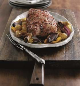 Roast Lamb with Sweet Chilli Glaze (Easy)