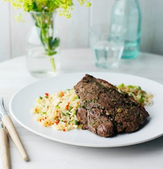 Rump Steaks with Lemon Grass and Ginger