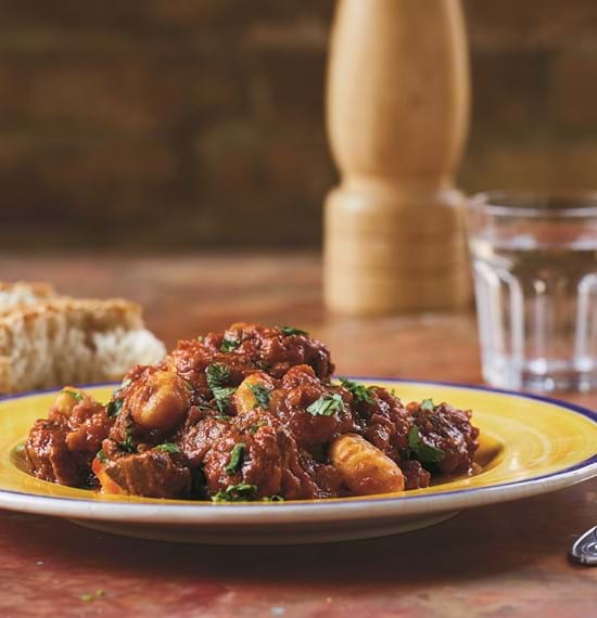 Slow Cooked Beef with Gnocchi