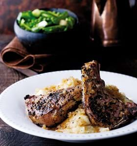 Speedy Peppered Lamb Chops