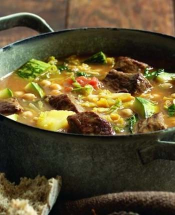 Spiced Lamb and Marrow Stew
