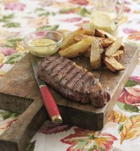 Steaks with Béarnaise  Sauce