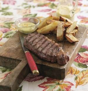 Steaks with Bearnaise Sauce