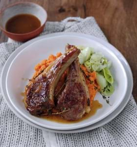 Sticky Citrus Lamb Chops