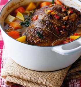 Stuffed Beef Pot Roast
