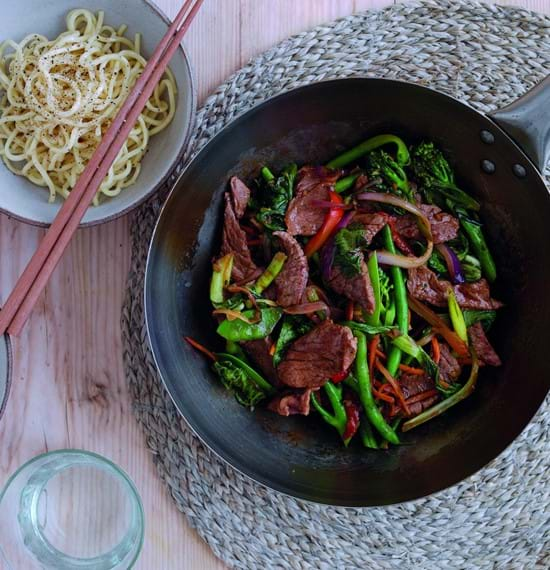 Tasty Teriyaki Lamb Stir-Fry
