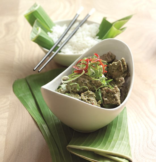 Thai Lamb Curry Slow Cooker Version