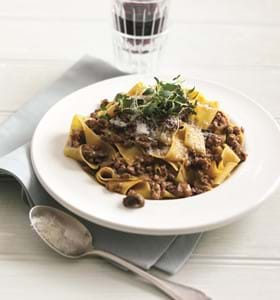 Veal and Pancetta Ragu
