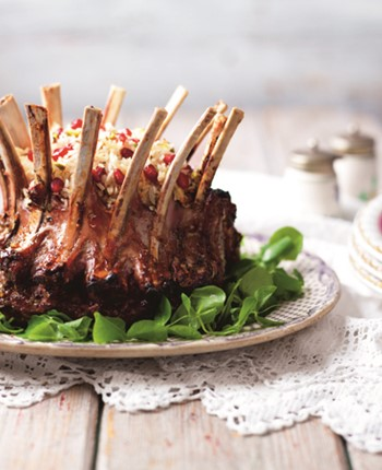 Windsor Crown Roast of Lamb with Jewelled Rice Stuffing