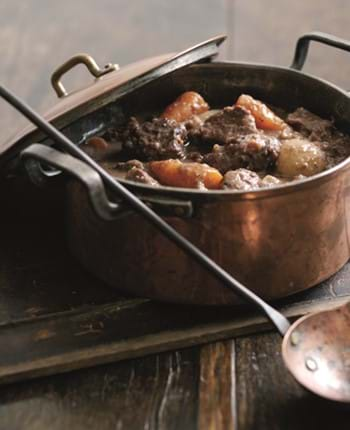 Winter Beef and Chestnut Casserole - Slow Cooker Version