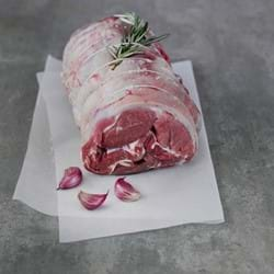 Rolled and boned shoulder of lamb