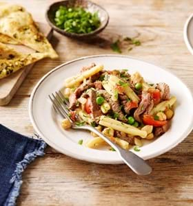 Beef, Bean and Chorizo Pasta