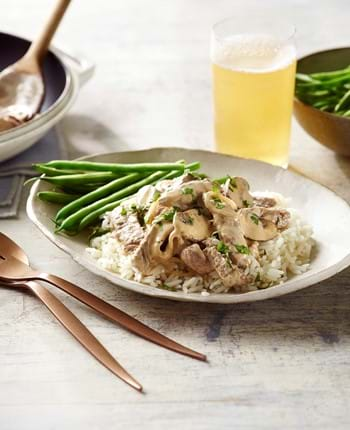 Quick Beef Thin Cut Stroganoff