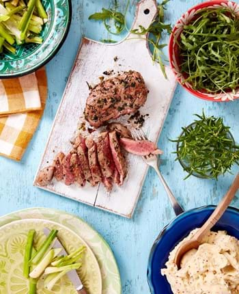 Mint and Rosemary Lamb